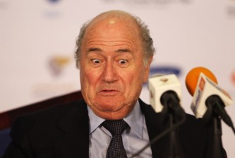 2nd Asian Beach Games - Day 2: FIFA President Joseph Sepp Blatter Press Conference