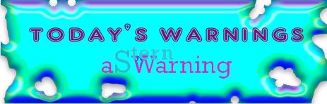 todays warnings 2009 v5