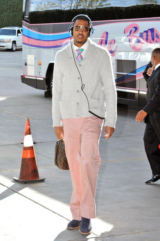 melo pink pants