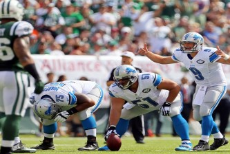 NFL: Detroit Lions at New York Jets