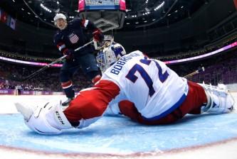Ice Hockey - Winter Olympics Day 8 - United States v Russia