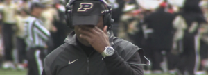 Darrell Hazell at a crossroads.