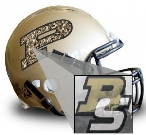 Your photo here Purdue helmet BS