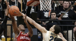 Hammons exerts his will over an IU medium