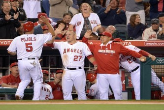 MLB: New York Yankees at Los Angeles Angels