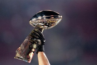 View of Lombardi Trophy