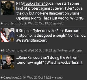 Rene Rancourt Tweet