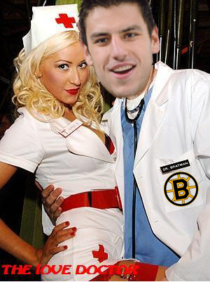 Milan Lucic dishes out love advice as Dr. love