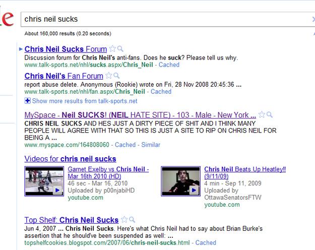 Chris Neil Sucks