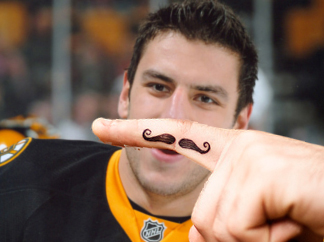 Finger Mustache Lucic