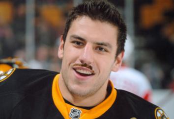 Carcillo mustache Lucic... vomit