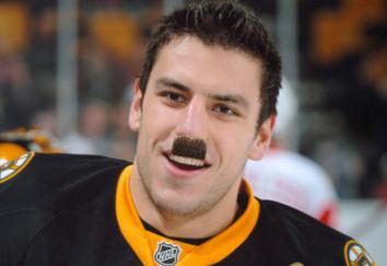 Milan Lucic Chaplin mustache