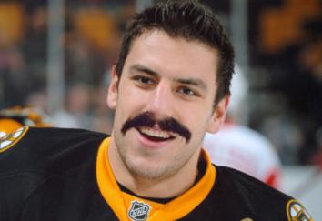 Lucic Burt Reynolds Bandit mustache