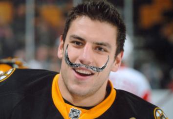 Salvidor mustache Milan Lucic