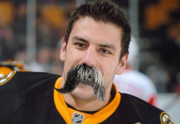 Walrus mustache Lucic