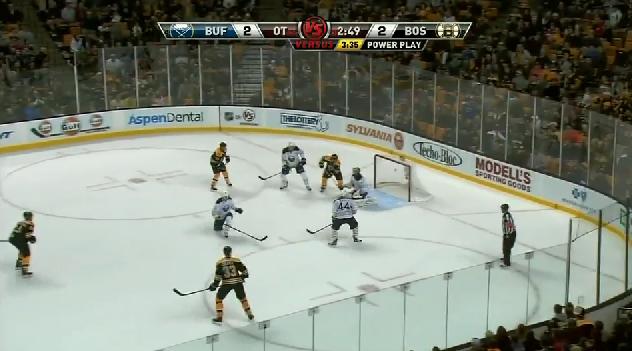 Mark Rechhi OT goal vs Sabres