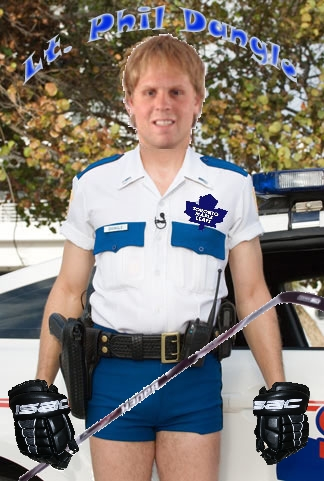 Phil Kessel is Lt. Dangle
