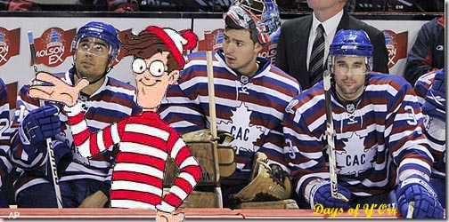 Wheres's Carey Price Waldo