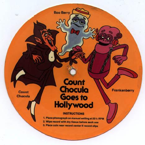 Count Chocula Friends Record