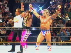 wwf bret hart and lex luger