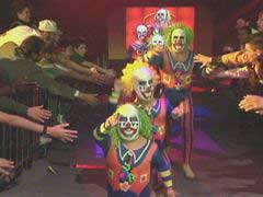 doink and dink the clown wwf old-school