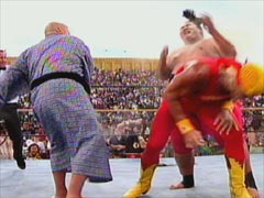 hulk hogan wrestlemania