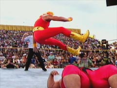 hulk hogan leg drop