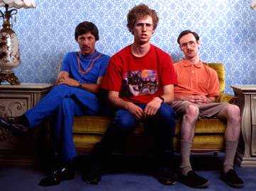 Napoleon Dynamite on the couch