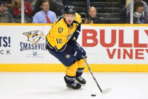 Mike Fisher is out for 4-6 months. Now what? (Don McPeak-USA TODAY Sports)