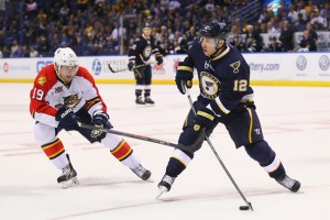 Derek Roy could be a cheap option down the middle for Nashville. (Dilip Vishwanat/Getty Images North America)