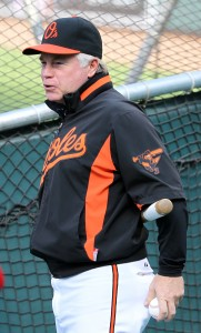 Baltimore Orioles manager Buck Showalter (26)