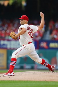 Justin Masterson will be a part of Boston's wormburner brigade. (Photo by Dilip Vishwanat/Getty Images)
