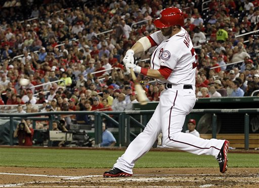 Harper's home run was no 'cheapie.' Credit: AP