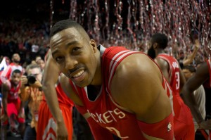 houston's dwight howard after eliminated by portland in playoffs