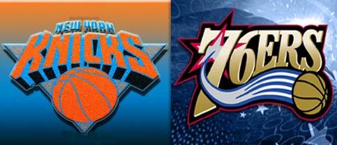 Fanatica Live Blog Knicks v. 76ers