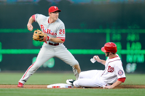 The Phillies can still cause some problems in the playoff picture in Washington.
