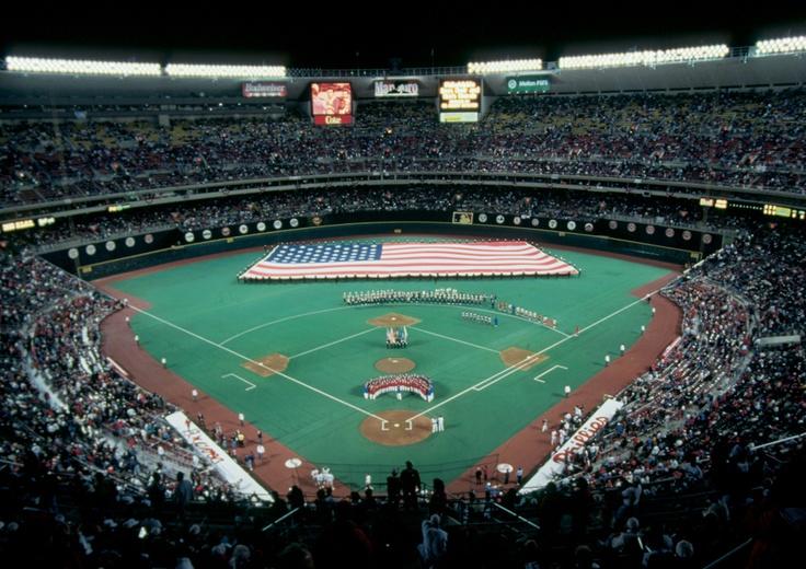 Veterans Stadium, 1993 NLCS