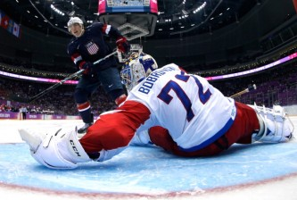 Ice Hockey - Winter Olympics Day 8 - United States v Russia