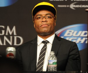 Anderson Silva Post UFC 162 Press Conference - Jayne Kamin-Oncea-USA TODAY Sports