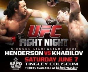 Henderson-vs-Khabilov-UFC-Albuquerque-poster-400x330