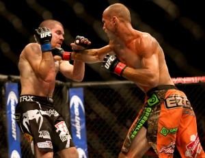 donald cerrone punches jim miller ufc fight night: cerrone vs miller