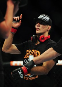rory macdonald celebrates win over tyron woodley