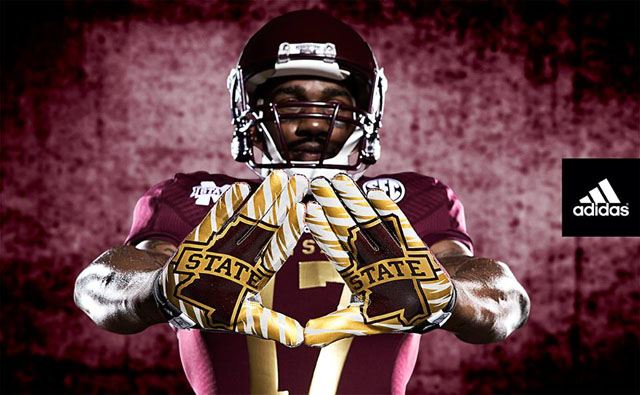 adidas 2013 Mississippi State Bulldogs 'Egg Bowl' Uniforms