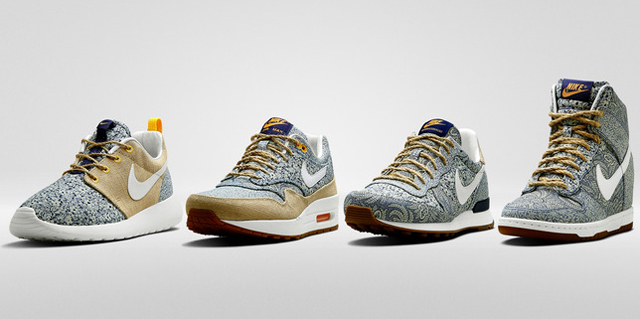 Nike x Liberty Summer 2014 Collection