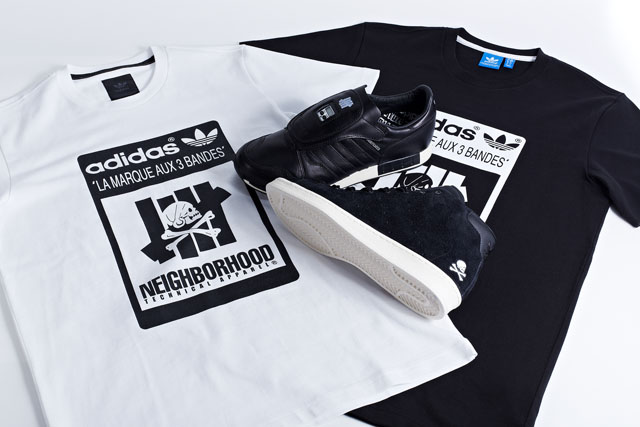 UNDFTD x NBHD x adidas Consortium pack