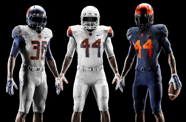 Nike Syracuse Orange 2014 Football Uniforms