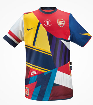 Nike Arsenal Limited Edition FA Cup Commemorative Shirt