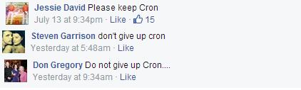 cron street trade