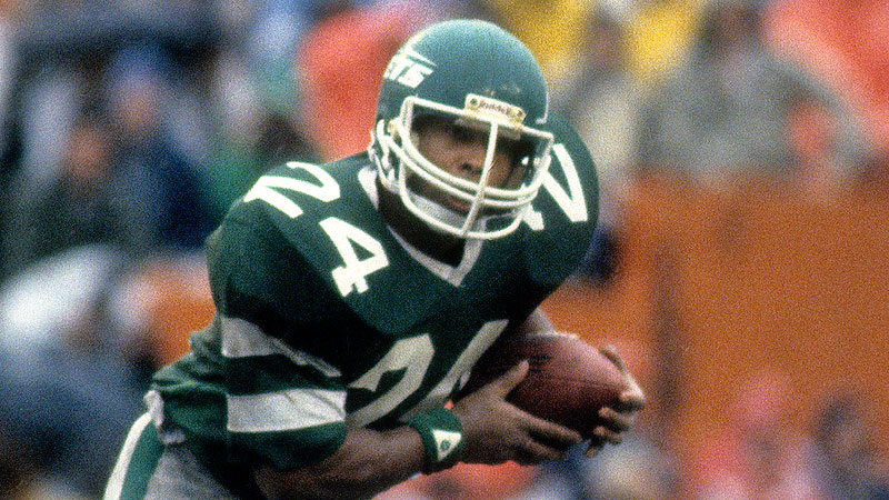 RB Freeman McNeil became a 3x Pro Bowler and 3x All-Pro in his career with the New York Jets ('81-'92). (Getty Images)