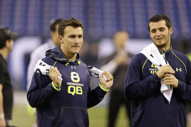 Johnny Manziel Derek Carr